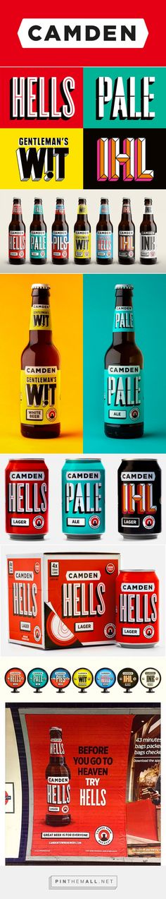 Camden Town Brewery by Studio Juice