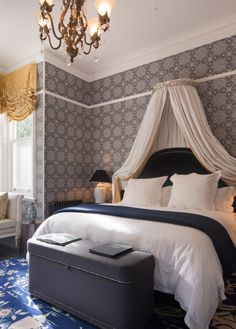Hulbert House regarded as one of the finest luxury boutique lodges in Queenstown. Discover the essence of luxury! Queenstown New Zealand, White Carpet, Wood Vanity, Double Room, Print Wallpaper, Hotel Reviews, Wood Turning, Soft Furnishings