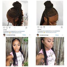 Fulani Braids, Dreadlocks, Hair Styles, Beauty, Hair Plait Styles, Hair Makeup, Hairdos, Haircut Styles, Dreads