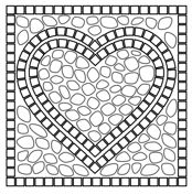 Mosaic Coloring pages. Select from 31983 printable Coloring pages of cartoons, animals, nature, Bible and many more. Heart Coloring Pages, Pattern Coloring Pages, Mandala Coloring Pages, Free Printable Coloring Pages, Free Coloring Pages, Coloring Books, Mosaic Crafts, Mosaic Projects, Mosaic Art