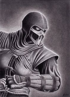 Noob Saibot - Mortal Kombat 9 by Derek-Castro on deviantART
