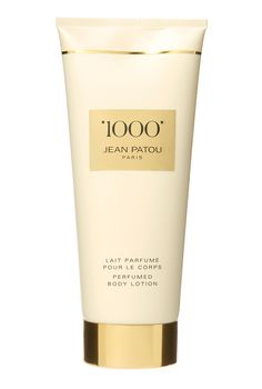 Jean Patou 200ml 1000 body lotion Jean Patou 1000 body lotion. A skin nurturing formula with an elegant, refined and classy fragrance. 1000 was carefully made with a blend of the worlds most exotic flowers and essential oils