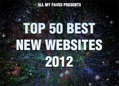 Top 50 best websites: Cool websites 2012