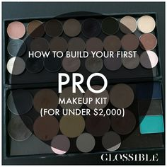 So. You wanna be a pro makeup artist? Well don't look like an amateur. In  this in depth post, I show you some basic products needed to work in almost  any situation.......and look like you actually know what you're doing.