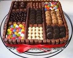 Tarta de chocolate Caja de Bombones