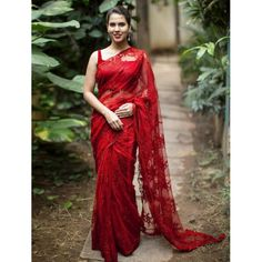 DF 3045 Colors Designer Traditional Festive Fashion Trendy Look Stylish Fancy Party Wear embroidered Occasionally Net Saree with Silk Blouse in Best Wholesale Price from Surat Gujarat - Full Catalog Price - INR Lace Saree, Saree Dress, Dress Lace, Fancy Sarees, Party Wear Sarees, Indian Dresses, Indian Outfits, Sari Bluse, Indische Sarees