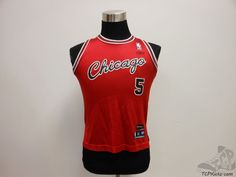 Reebok Chicago Bulls D Derrick Rose # 5 Basketball Jersey sz Youth M Medium #Reebok #ChicagoBulls #tcpkickz