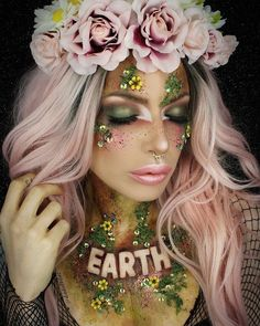 """550 Likes, 13 Comments - -- Da Dollitaz -- (@dadollitaz) on Instagram: """" EARTH FAIRY  #inyourelement series.This is my favourite palette of the 3 ,looove the warm…"""""""