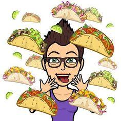 Happy #cincodemayo  My #bitmoji and I want #tacos lol #omnomnom #tacosaremyweakness #getinmyface #foodforthesoul #anyexcusetoeattacos #guacamole #avolove #eatinginnately #veggies #organic #whynot