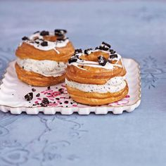 Cookies and Cream Cronuts