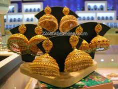 Jewellery Designs: Jumkis Collection