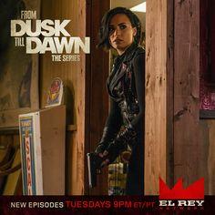 DUSK S2   Demi Lovato joins the cast on October 20 at 9pm ET/PT on El Rey Network   via facebook.com