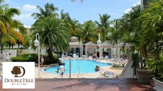 Double Tree Grand Key Resort - Key West, FL Great pool, pool side bar, and free shuttle