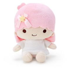 Lala Little Twin Stars Bean Doll Plush Collection Sanrio Japan ❤ liked on Polyvore featuring plush and sanrio
