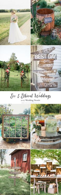 Top Wedding Trends 2017 - Eco & Ethical