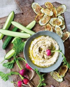 Almond Pulp Hummus from 'Everyday Detox'