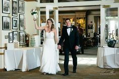 Christy and Brian's Wedding at Cinnabar Hills Golf Club! Wedding and engagement photography by Charles Le Photography - Bride and groom at reception