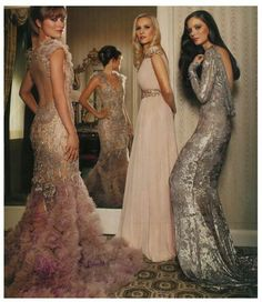 If I would send any client down the red carpet or even down the isle it would defiantly be in a marchesa dress!