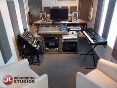 Audio Control Room treatment by Primacoustic Acoustic Solutions - JL Recording Studios, Toronto.  http://www.jlstudios.ca  #Recording #Studio