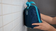 Shower, stow & go  Tired of bathroom caddies that just don't measure up? With Vessel, you can practically fit your whole bathroom in a bag. This waterproof solution features three roomy compartments and two handy holsters to keep bathroom essentials—like shampoo, body wash, razors, and toothbrushes—handy. Rub-a-dub-dub!