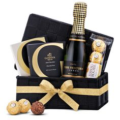 Madrid's Favorite Cava & Sweets Mother's Day Gift Baskets, Wine Baskets, Christmas Gift Baskets, Basket Gift, Spa Gifts, Wine Gifts, Mother Day Gifts, Gifts For Mom, Mothers Day Chocolates