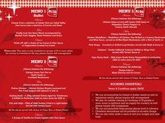 Mike's Kitchen Milnerton & City - End of Year Function Menu End Of Year, Menu, City, Kitchen, Food, Menu Board Design, Cooking, Kitchens, Essen