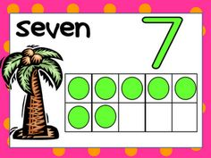 FREE Chicka Chicka Boom Boom Counting Play Dough Mats!!!! numbers 1 to 10; download from Kindergarten Celebration!!