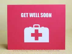 """""""Masculine get well card."""" What exactly would be wrong with sending this to a woman? Funny, I see more humorous get well cards at Target than sappy flowered ones."""