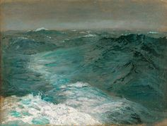 "John Singer Sargent ""Mid-Ocean, Mid-Winter,"" 1876, private collection."