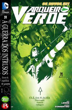 Os Novos 52! Arqueiro Verde #31 - Galáxia dos Quadrinhos