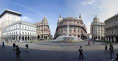 Pontos turísticos em Génova #viajar #viagem #itália #italy