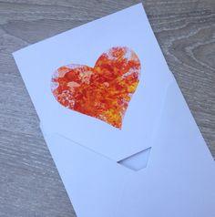 Prani, greetings card, wax printed