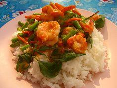 Thai Red Shrimp Curry - Bangkok, Thailand #travel  #viator  http://www.viator.com/