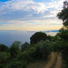 Aegean Sea view from Skopelos