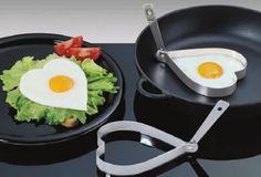 stampo in acciaio a cuore per uovo in tegame € 10,90