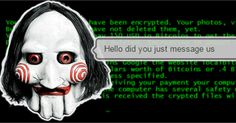 Now #ransomware criminals demand money via live chat