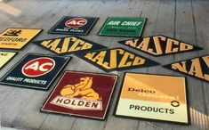 Some rare holden signs that recently sold at auction