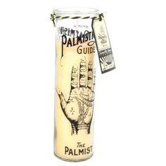 Homewares - Tattoo Palm Tall Candlepot