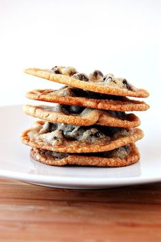 top secret chocolate chip cookie recipe | girl who bakes