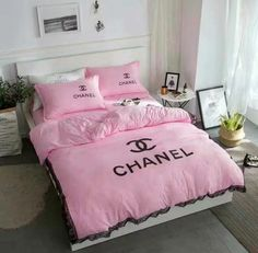 Chanel Inspired Bedding Set Fitted Sheet 2 By