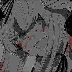 Friend Anime, Picture Icon, Anime Girl Cute, Dark Anime, Manga Characters, Girl Face, Manga Girl, Vaporwave, Yandere