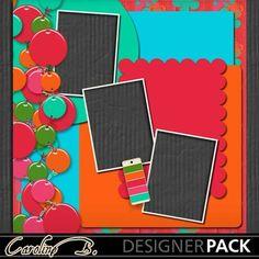 Digital Scrapbooking Kits   60's Dress 12x12 QP5-(carolnb)   Celebrations, Family, Friends, Heritage, Memories, Vintage   MyMemories
