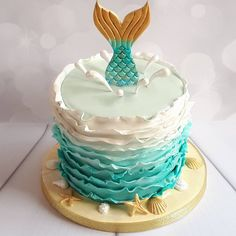 Birthdays are all about creating a sense of magic, and what could be more magical than a mermaid cake? Drawing inspiration from these mythical sea creatures,