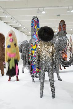 art lesson based on Nick Cave soundsuits