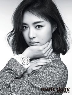 Marie Claire features Lee Yeon Hee in o'natural pictorial   Koogle TV