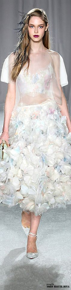 Marchesa Spring/Summer 2014 - New York Fashion Week - Runway