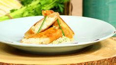 Recipe for Crispy Crab Cigars with Napa Slaw and Ginger Vinaigrette from Executive Chef Craig MacAvoy, The Westin Sarasota