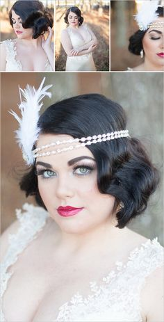 vintage bridal looks http://www.weddingchicks.com/2014/04/28/wedding-ideas-with-some-va-va-voom/?utm_source=crowdignite.com&utm_medium=referral&utm_campaign=crowdignite.com