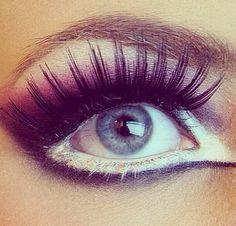 Love the eye makeup