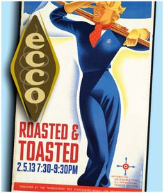 Bundle Up in Your Hottest Winter Duds and Ski into Ecco's Roasted & Toasted Event   on February 5